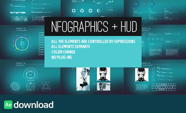 Infographics + HUD free download