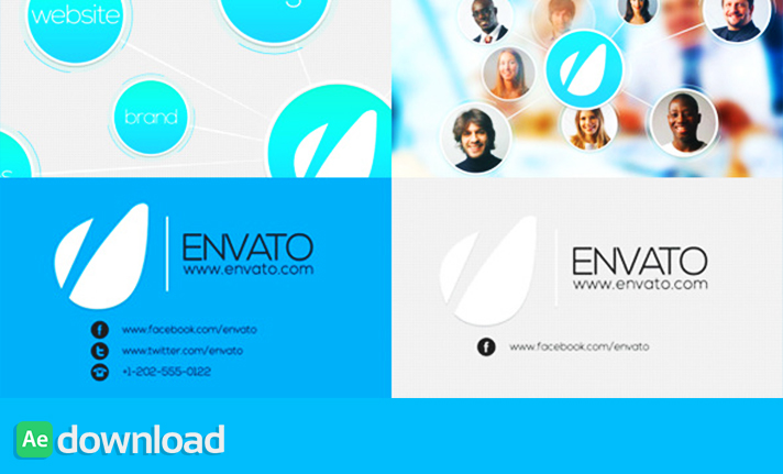 Intro Identity for Company Logo free download