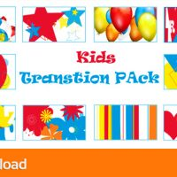 MOTION GRAPHICS – KIDS TRANSITION PACK (VIDEOHIVE)