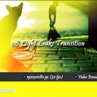 MOTION GRAFICS – LIGHT LEAKS TRANSITION (VIDEOHIVE)