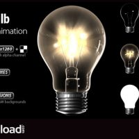 LIGHT BULB – MOTION GRAPHICS (VIDEOHIVE)