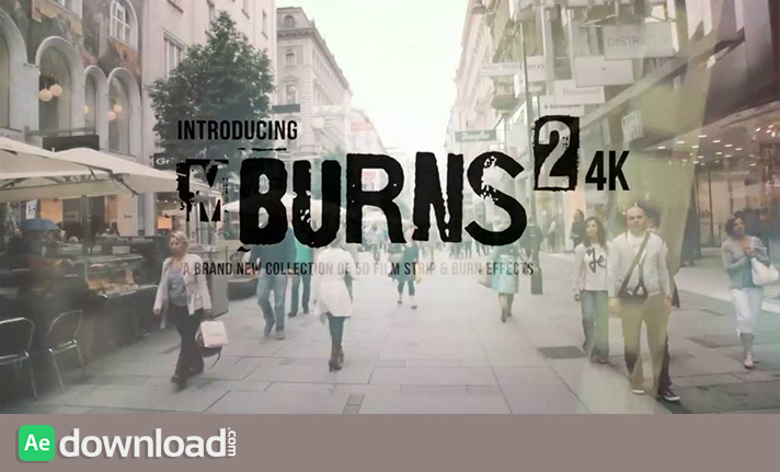 MBURNS 2 FOR FCPX 4K COLLECTION (MOTIONVFX) free download