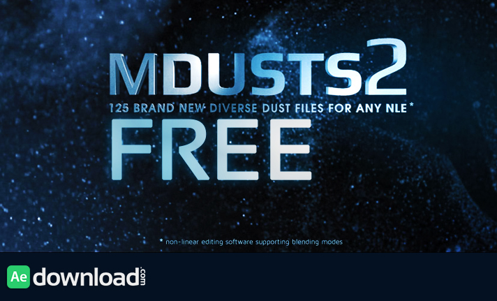 MOTIONVFX - MDUSTS2 FREE DOWNLOAD - Free After Effects
