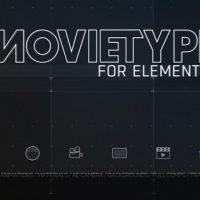 MOTIONWORKS – MOVIETYPE FOR ELEMENT 3D V2