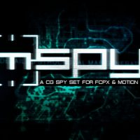 MSPY – A CG SPY SET FOR FCPX AND MOTION 5 (MOTIONVFX)