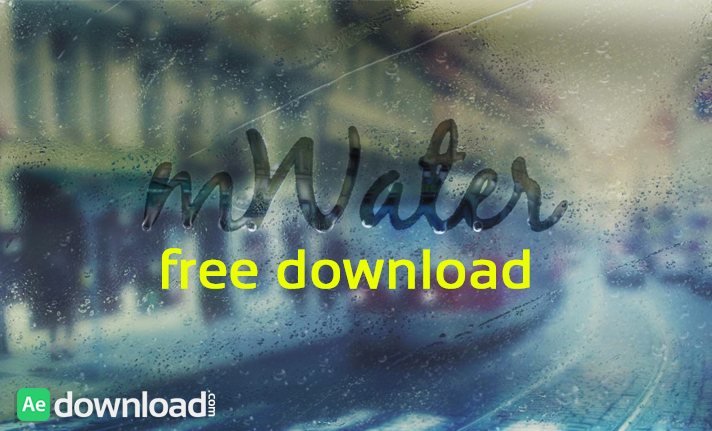 MWATER 75 ORGANIC WATER ELEMENTS H.264 (MOTIONVFX) free download