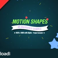 MOTION SHAPES VOL.2 – MOTION GRAPHIC (VIDEOHIVE)
