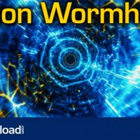 NEON WORMHOLE – HI-TECH TUNNEL FLYTHROUGH (VIDEOHIVE) FREE