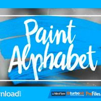 VIDEOHIVE OIL PAINT ALPHABET AFTER EFFECTS TEMPLATE FREE DOWNLOAD