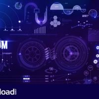 PHANTOM HUD INFOGRAPHIC – MOTION GRAPHIC (VIDEOHIVE)