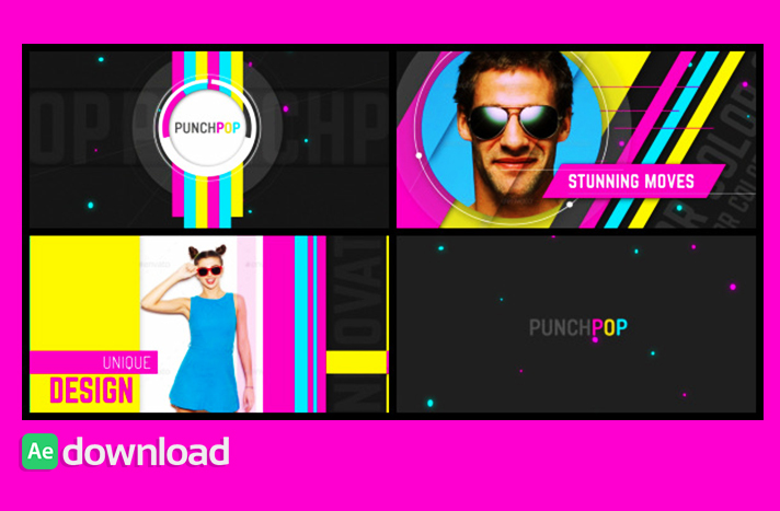 Punch Pop videohive free templates
