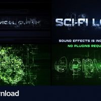 VIDEOHIVE SCI-FI ELECTRICAL GLITCH – FREE DOWNLOAD