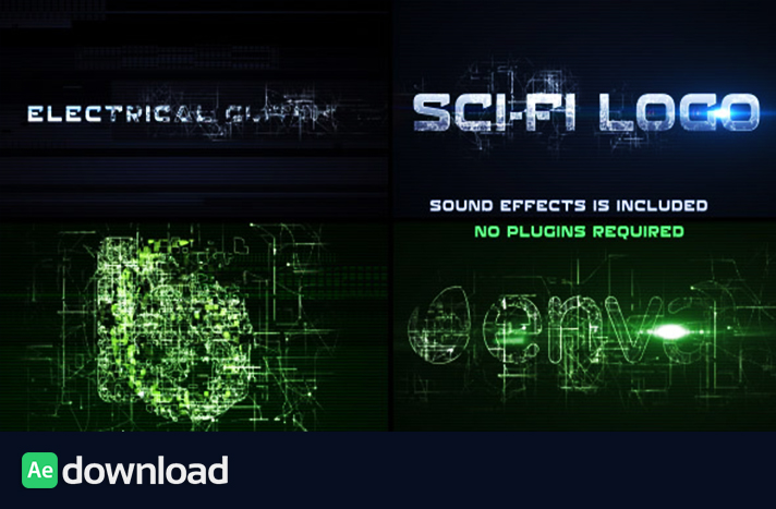 Sci-Fi Electrical Glitch free download