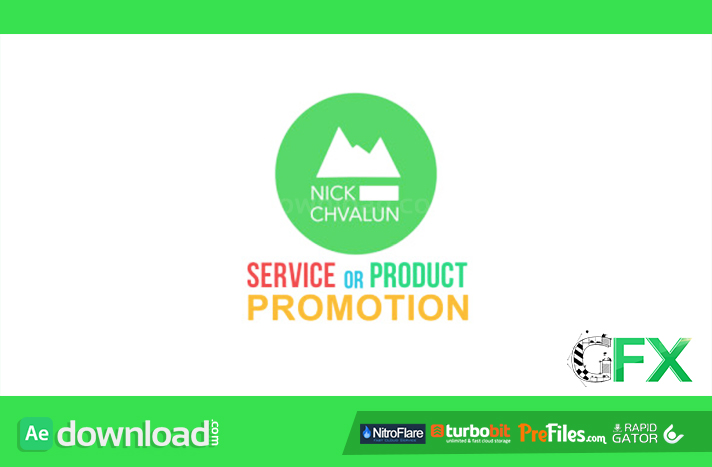 Service Or Product Promotion Presentation Free Download After Effects Templates