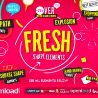 VIDEOHIVE SHAPE ELEMENTS FRESH FREE DOWNLOAD