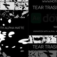 VIDEOHIVE TEAR TRANSITIONS (PACK OF 20) FREE DOWNLOAD