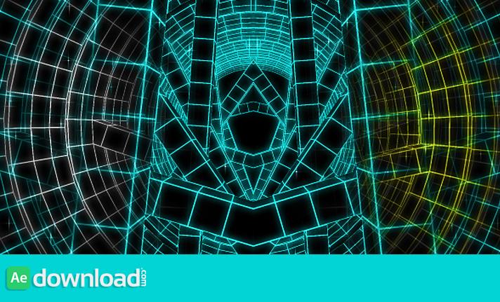 Techno Tunnel VJ Loop HD free download