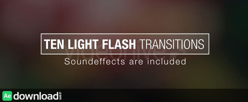 10 light effect flash transition background synthesis special.