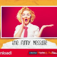 THE FUNNY MESSAGE FREE DOWNLOAD (VIDEOHIVE)