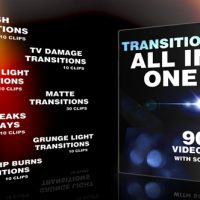 VIDEOHIVE TRANSITIONS ALL IN ONE 10815849 FREE DOWNLOAD