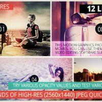 VIDEOHIVE LIGHT LEAKS PACK II – MOTION GRAPHICS