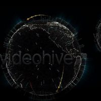 VIDEOHIVE CYBER EARTH GLOBE – MOTION GRAPHICS