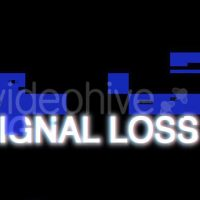 VIDEOHIVE SIGNAL LOSS – MOTION GRAPHICS
