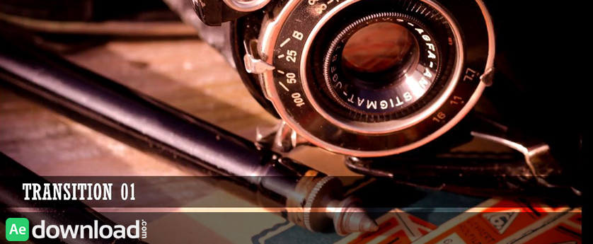 VIDEOHIVE VINTAGE LIGHT LEAKS - MOTION GRAPHICS