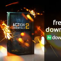 VIDEO COPILOT – ACTION ESSENTIALS 2 – 720P & 2K FILM RESOLUTION