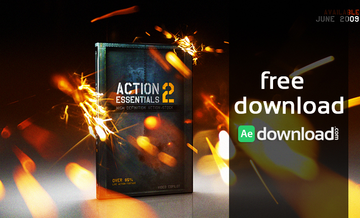 Video Copilot Action Essentials 2 - 720P & 2K Film Resolution free download