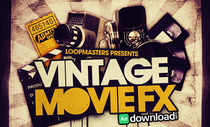 VINTAGE FILM FX PACK FRE DOWNLOAD - Free After Effects