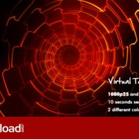 VIRTUAL TUNNEL – MOTION GRAPHIC (VIDEOHIVE)