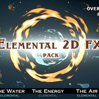 VIDEOHIVE ELEMENTAL 2D FX PACK 9673890 – MOTION GRAPHICS