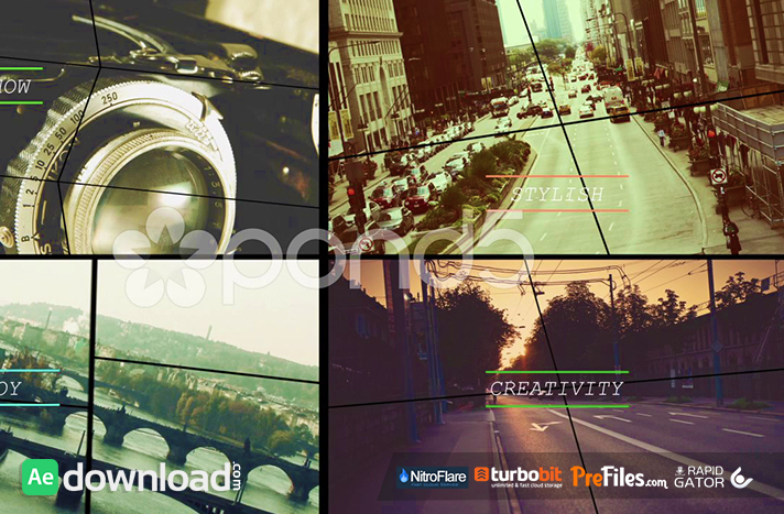 СOLLISION - AFTER EFFECTS TEMPLATES (POND5) Free Download After Effects Templates