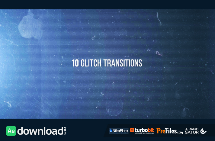 10 Glitches Free Download After Effects Templates
