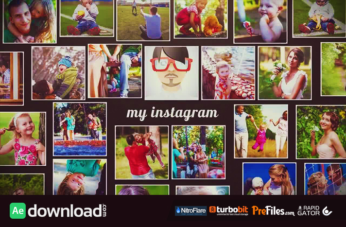 120 INSTAGRAM SLIDESHOW (MOTION ARRAY) Free Download After Effects Templates