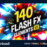 VIDEOHIVE 140 FLASH FX ELEMENTS (VIDEOHIVE PROJECT) – FREE DOWNLOAD