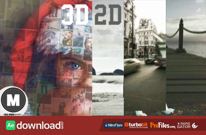 2 3D Photo Slideshow Bundle Free Download After Effects Templates