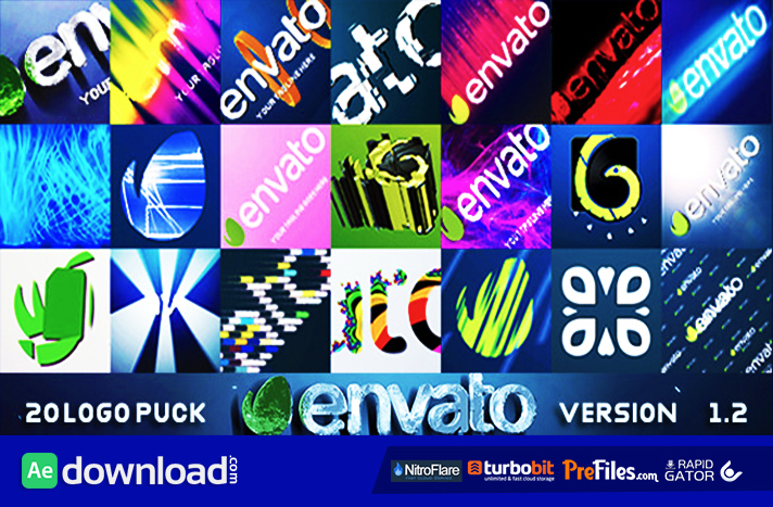 20 Logo Pack v1.2 Free Download After Effects Templates