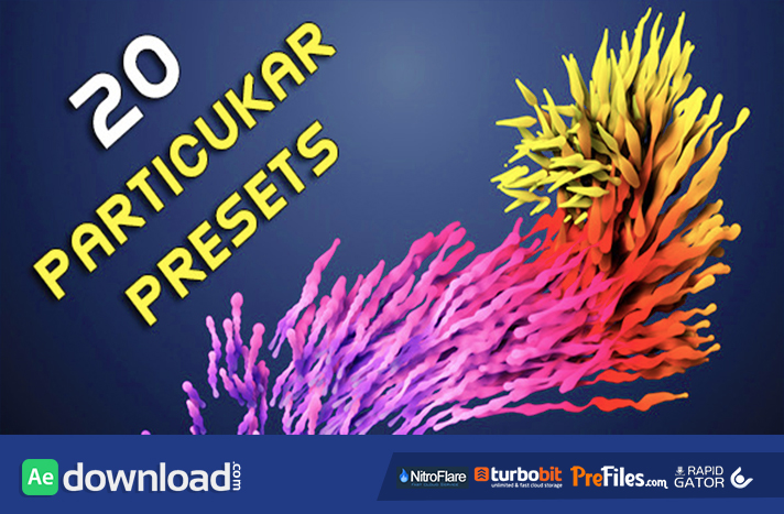 20 Particular Presets - Magic Pack Free Download After Effects Templates