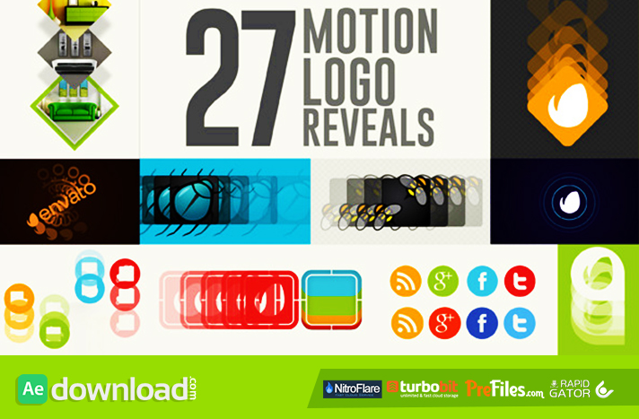 27 Motion Logo Reveals Videohive Free Download Free After