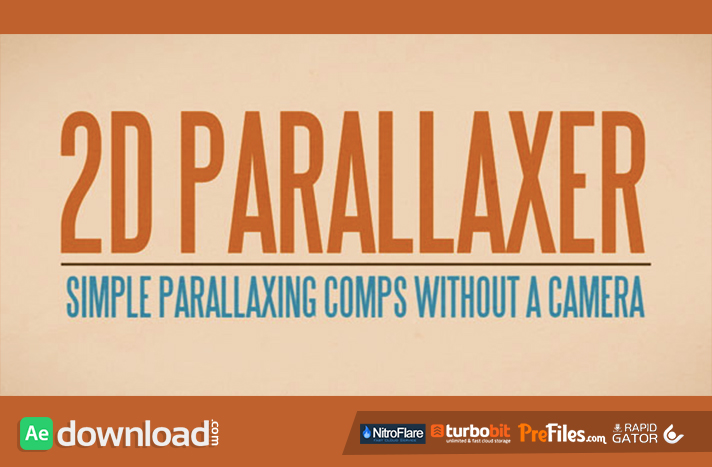 2D Parallaxer Free Download After Effects Templates