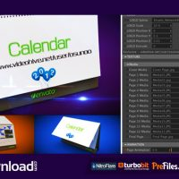 3D CALENDAR PRESET (VIDEOHIVE PROJECT) – FREE DOWNLOAD
