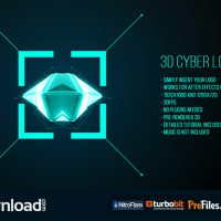 3D CYBER LOGO (VIDEOHIVE) – FREE DOWNLOAD