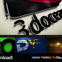 3D LOGO TITLE INTRO ANIMATION KIT (VIDEOHIVE PROJECT) – FREE DOWNLOAD