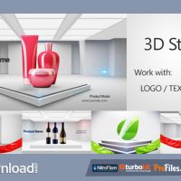 3D STAGE 3D PROMO – (VIDEOHIVE TEMPLATE) – FREE DOWNLOAD