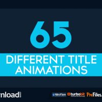 VIDEOHIVE 65 MINIMAL TITLE ANIMATIONS (VIDEOHIVE PROJECT) – FREE DOWNLOAD