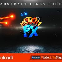 ABSTRACT LINES LOGO (VIDEOHIVE PROJECT) – FREE DOWNLOAD