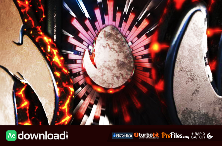 Abstract Magma Logo Free Download After Effects Templates