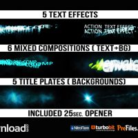 ACTION TITLES – (VIDEOHIVE TEMPLATE) – FREE DOWNLOAD